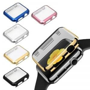 Case Cover Screen Protector Zilver 4H Protected Knocks Watch Cases voor Apple watch voor iwatch 2-002