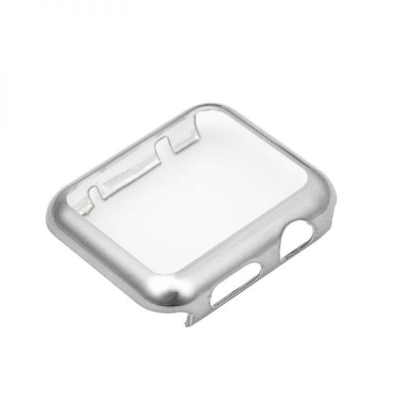 Case Cover Screen Protector Zilver 4H Protected Knocks Watch Cases voor Apple watch voor iwatch 2-003