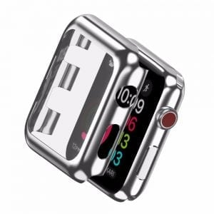 Case Cover Screen Protector Zilver 4H Protected Knocks Watch Cases voor Apple watch voor iwatch 2-006
