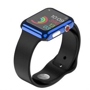 Case Cover Screen Protector blauw 4H Protected Knocks Watch Cases voor Apple watch voor iwatch 2-006