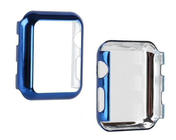 Case Cover Screen Protector blauw 4H Protected Knocks Watch Cases voor Apple watch voor iwatch 2-007