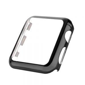 Case Cover Screen Protector zwart 4H Protected Knocks Watch Cases voor Apple watch voor iwatch 2-001