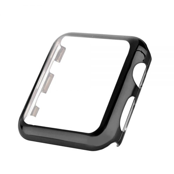 Case Cover Screen Protector zwart 4H Protected Knocks Watch Cases voor Apple watch voor iwatch 2-001