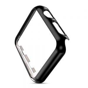 Case Cover Screen Protector zwart 4H Protected Knocks Watch Cases voor Apple watch voor iwatch 2-002