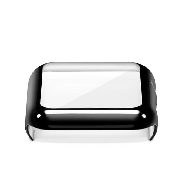 Case Cover Screen Protector zwart 4H Protected Knocks Watch Cases voor Apple watch voor iwatch 2-003