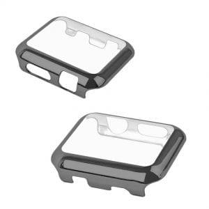 Case Cover Screen Protector zwart 4H Protected Knocks Watch Cases voor Apple watch voor iwatch 2-007