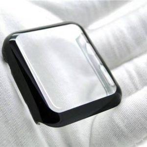 Case Cover Screen Protector zwart 4H Protected Knocks Watch Cases voor Apple watch voor iwatch 2-009