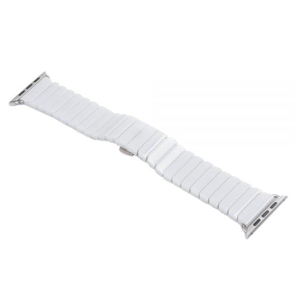 Keramische vervangend bandje voor Apple Watch iwatch Series 1-2-3 42mm wit-001