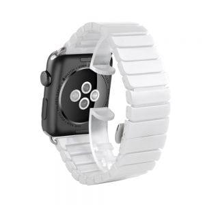 Keramische vervangend bandje voor Apple Watch iwatch Series 1-2-3 42mm wit-005
