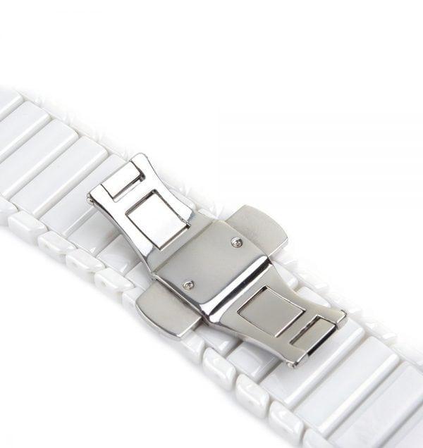 Keramische vervangend bandje voor Apple Watch iwatch Series 1-2-3 42mm wit-007