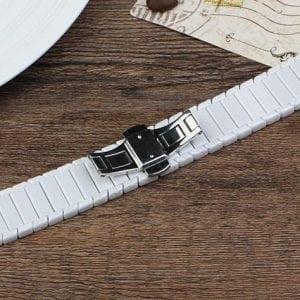 Keramische vervangend bandje voor Apple Watch iwatch Series 1-2-3 42mm wit-015