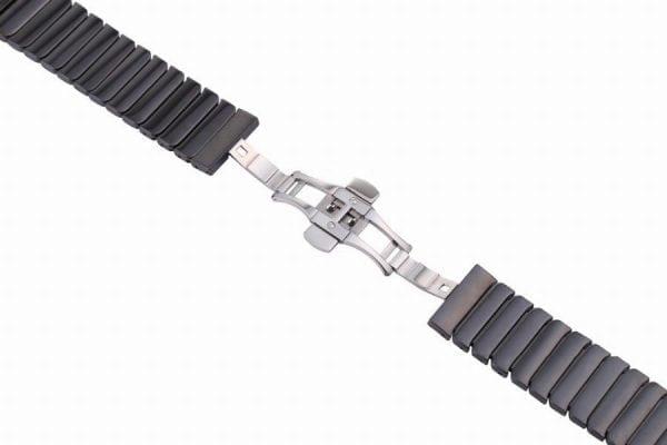Keramische vervangend bandje voor Apple Watch iwatch Series 1-2-3 42mm zwart-014