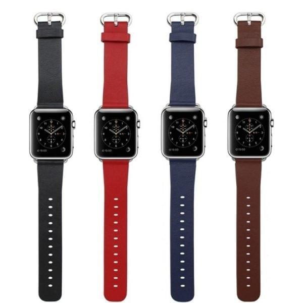 Luxe Classic Lederen armband voor de Apple Watch-003