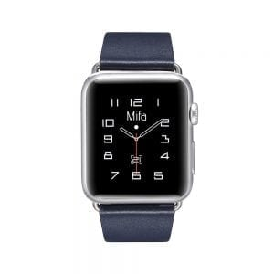 Nieuwe lederen band met klassieke gesp voor Apple Watch band bruine kleur 38mm - 40mm vervangende horlogeband voor Iwatch Series 3/2/1