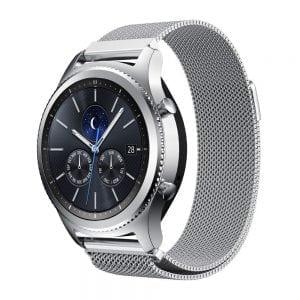 Milanese Loop rvs zilver bandje voor de Samsung Gear S3 S3 Frontier S3 Classic-010