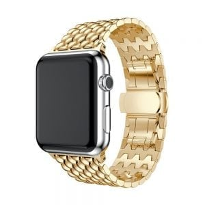 RVS goud metalen bandje armband voor de Apple Watch iwatch-003