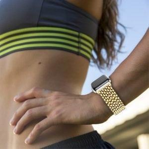 RVS goud metalen bandje armband voor de Apple Watch iwatch-006