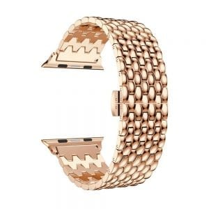 RVS rose goud metalen bandje armband voor de Apple Watch iwatch-004
