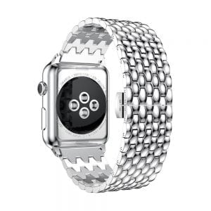 RVS zilver metalen bandje armband voor de Apple Watch iwatch-002