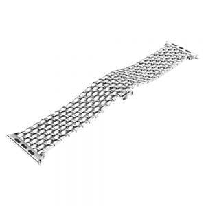 RVS zilver metalen bandje armband voor de Apple Watch iwatch-004