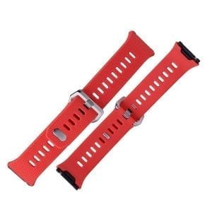 Luxe Siliconen Bandje voor FitBit Ionic – Rood-006