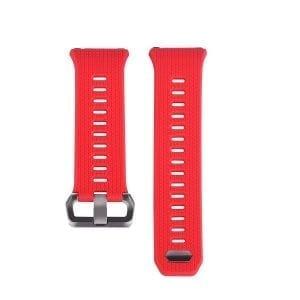 Luxe Siliconen Bandje voor FitBit Ionic – Rood-010