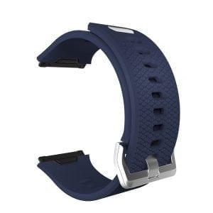 Luxe Siliconen Bandje voor FitBit Ionic – donker blauw-004