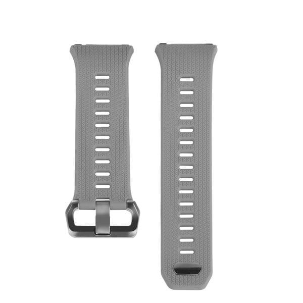 Luxe Siliconen Bandje voor FitBit Ionic – grijs-005