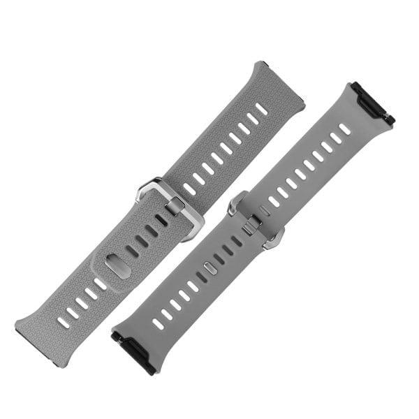 Luxe Siliconen Bandje voor FitBit Ionic – grijs-006