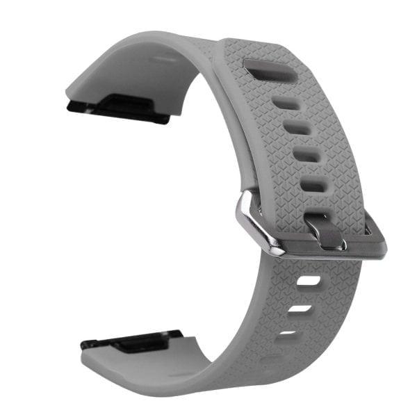 Luxe Siliconen Bandje voor FitBit Ionic – grijs-008