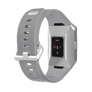 Luxe Siliconen fitbit ionic bands – grijs