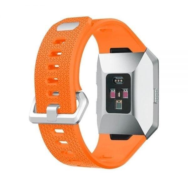 Luxe Siliconen Bandje voor FitBit Ionic – oranje-002