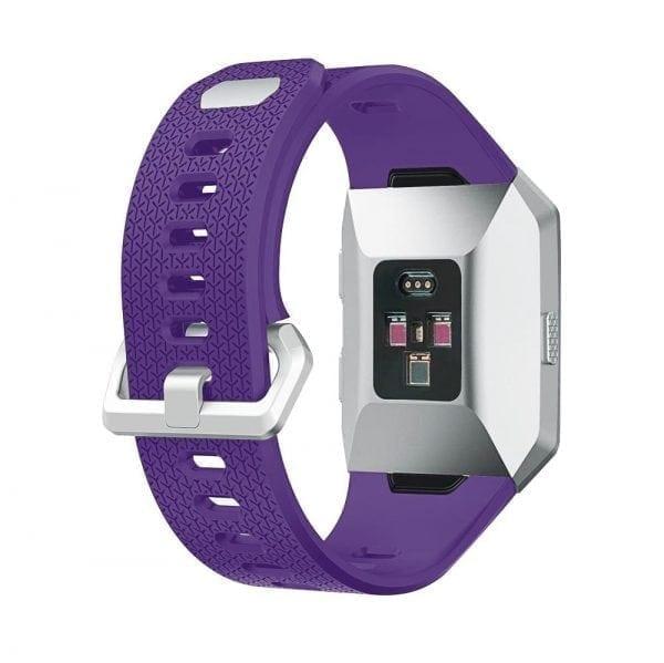 Luxe Siliconen Bandje voor FitBit Ionic – paars-001