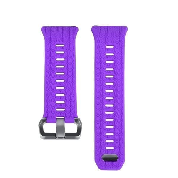 Luxe Siliconen Bandje voor FitBit Ionic – paars-002