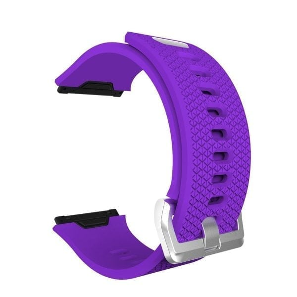 Luxe Siliconen Bandje voor FitBit Ionic – paars-003
