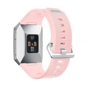 Luxe Siliconen Bandje voor FitBit Ionic – roze