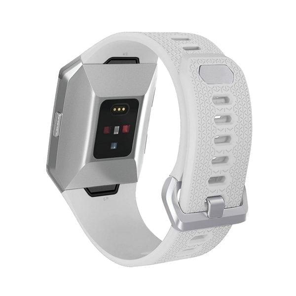 Luxe Siliconen Bandje voor FitBit Ionic – wit-007