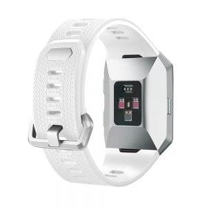 Luxe Siliconen Bandje voor FitBit Ionic – wit