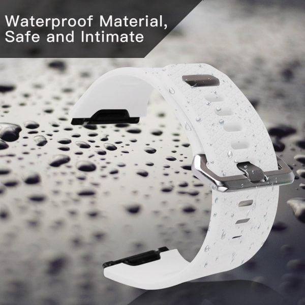 Luxe Siliconen Bandje voor FitBit Ionic – wit-015