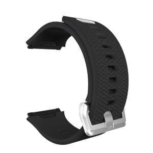 Luxe Siliconen Bandje voor FitBit Ionic – zwart-008