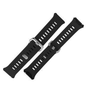 Luxe Siliconen Bandje voor FitBit Ionic – zwart-010