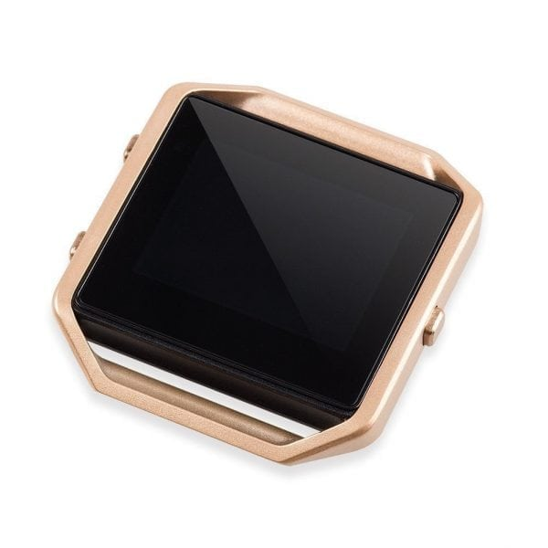 RVS vervangings frame cover protector voor Fitbit Blaze - rose goud-008