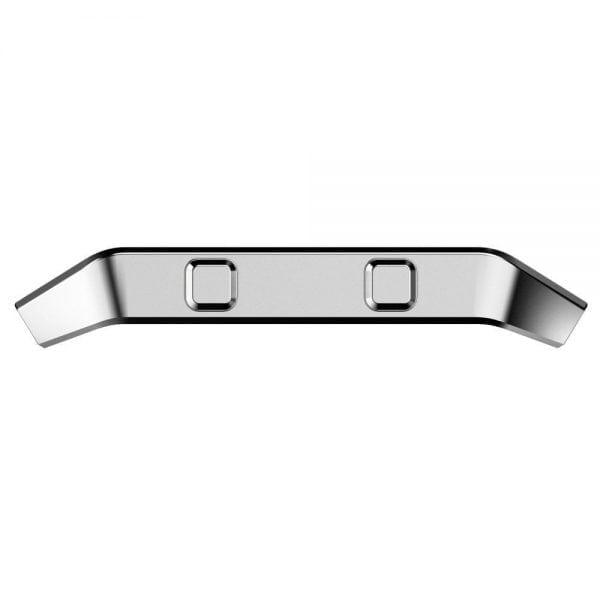 RVS vervangings frame cover protector voor Fitbit Blaze - zilver-001