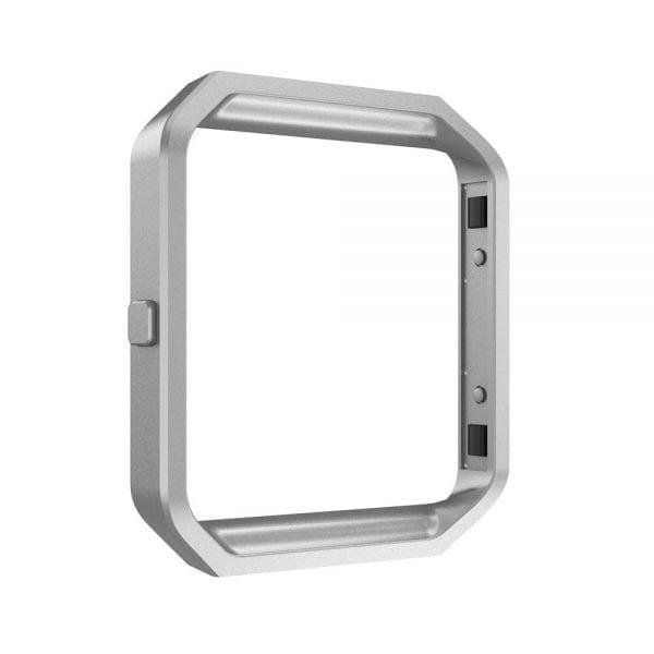RVS vervangings frame cover protector voor Fitbit Blaze - zilver-002