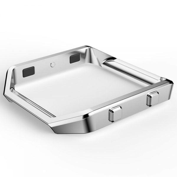 RVS vervangings frame cover protector voor Fitbit Blaze - zilver-003