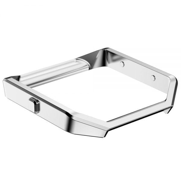 RVS vervangings frame cover protector voor Fitbit Blaze - zilver-004