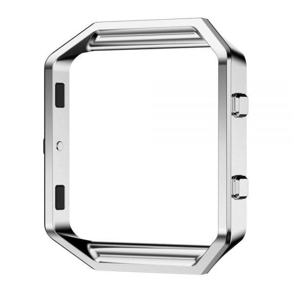 RVS vervangings frame cover protector voor Fitbit Blaze - zilver-006