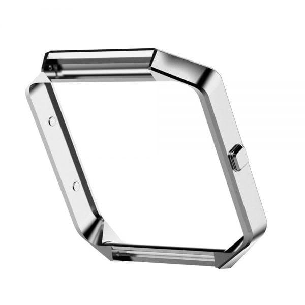 RVS vervangings frame cover protector voor Fitbit Blaze - zilver-007
