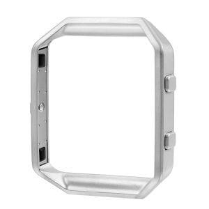 RVS vervangings frame / cover / protector voor Fitbit Blaze - zilver
