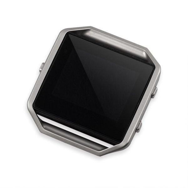RVS vervangings frame cover protector voor Fitbit Blaze - zilver-009